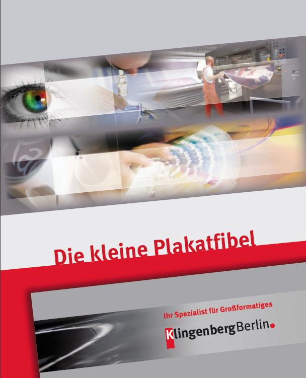Die kleine Plakatfibel – Klingenberg Berlin