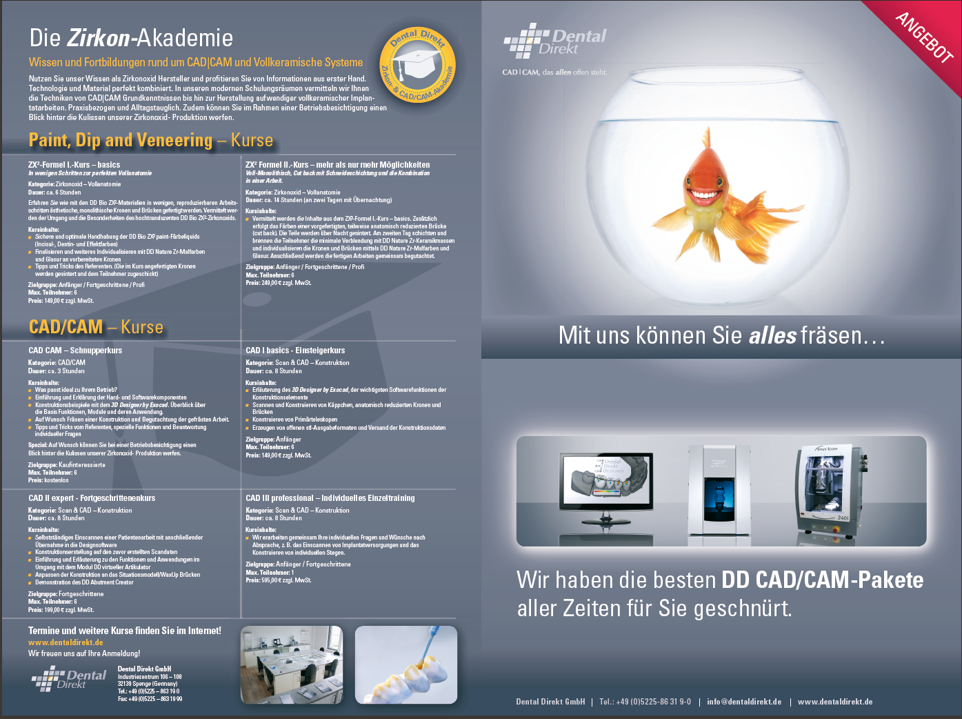 Dental Direkt – Beileger CAD/CAM