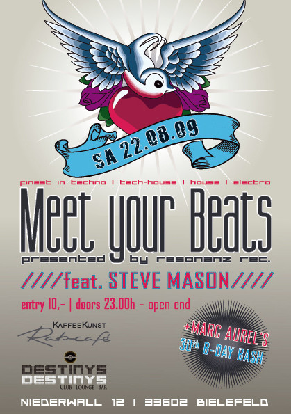 "Flyer ""Meet your beats"" Vol.2"
