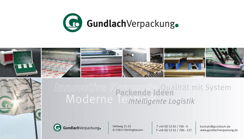 Werbeplakat – Gundlach Verpackung, Oerlinghausen