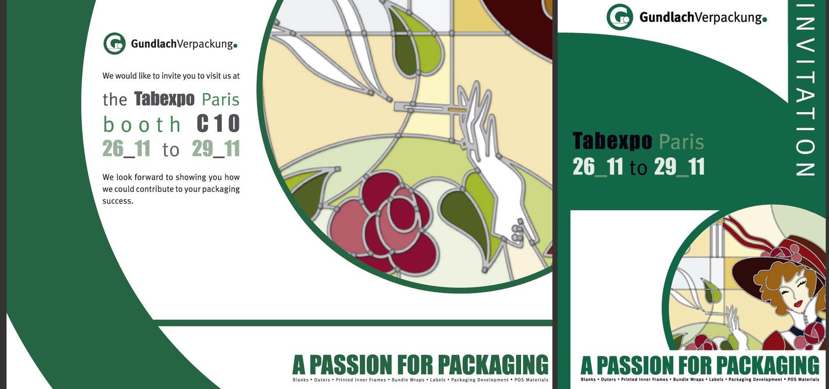 Int. Messe-Einladung Gundlach Verpackung