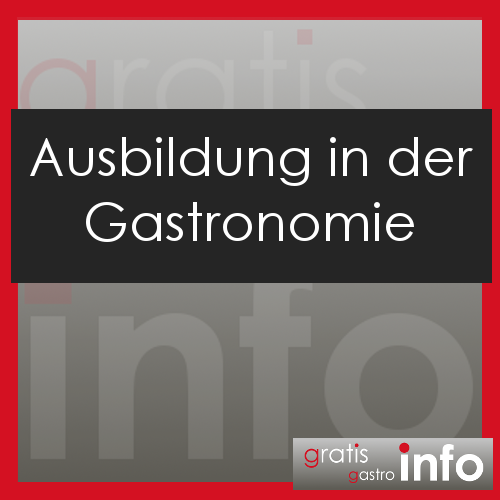 Ausbildung in der Gastronomie