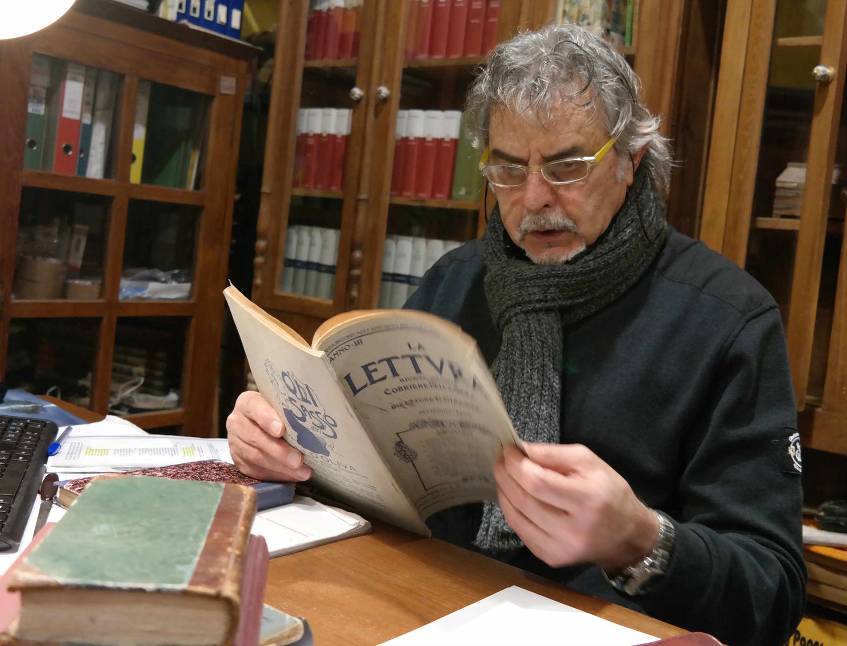 L'attore Michele Vigilante