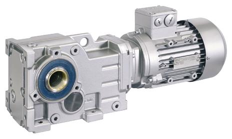 Kegelstirnradgetriebemotor © Siemens AG 2020, Alle Rechte vorbehalten
