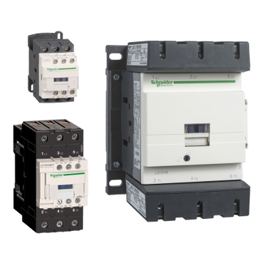 Contactors TeSys © Schneider Electric GmbH 2020, All rights reserved