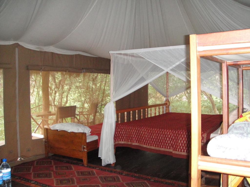 ンダラクワイキャンプの中ここに、三泊しました。