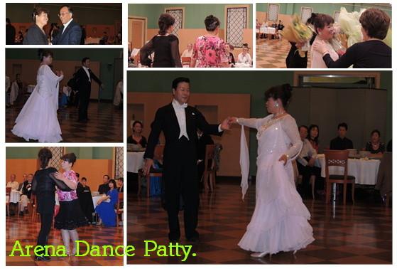 ワルツとチャチャチャを踊りました。