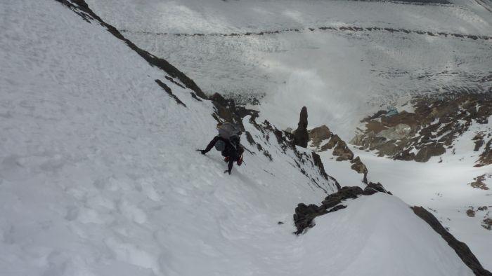David auf ca. 6100m (c) G. Kaltenbrunner