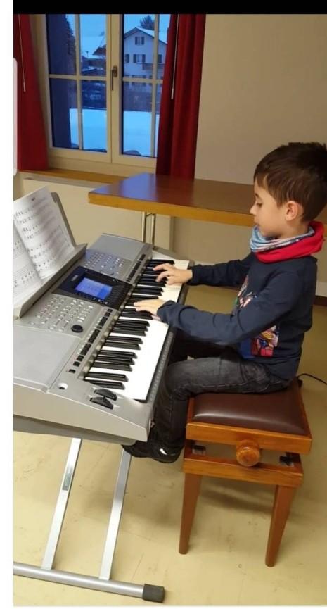 Der kleine Keyboardspieler - Entwicklung der Rhythmische Gefühl