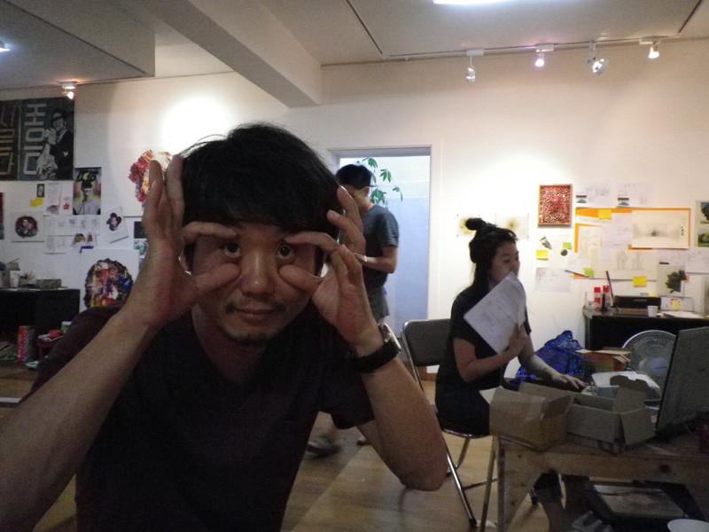 李さん、変な写真ばかりですいません(笑)
