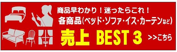 各商品の売れ筋・売上BEST3