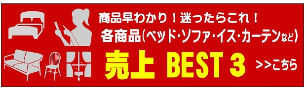 各商品の売れ筋・売上BEST3 ベスト3