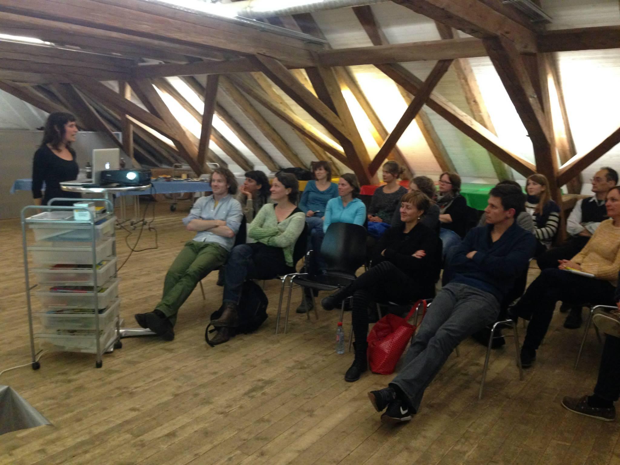 2014: Erste Mitgliederversammlung des Vereins Netzwerk Soziokultur Bern