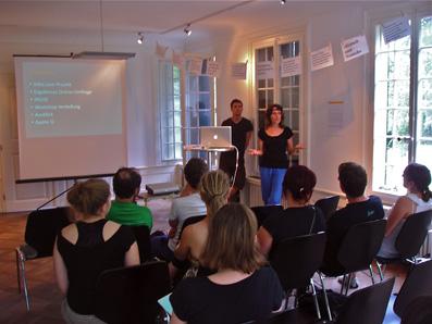 2012: Kick-Off Veranstaltung Netzwerk Soziokultur Bern in der Villa Bernau