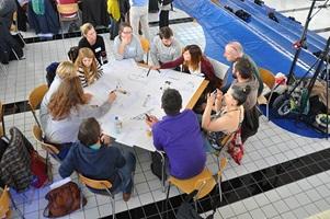 2014: Nationales Symposium Labor Soziokultur, Neubad Luzern: Wir vernetzen uns fleissig