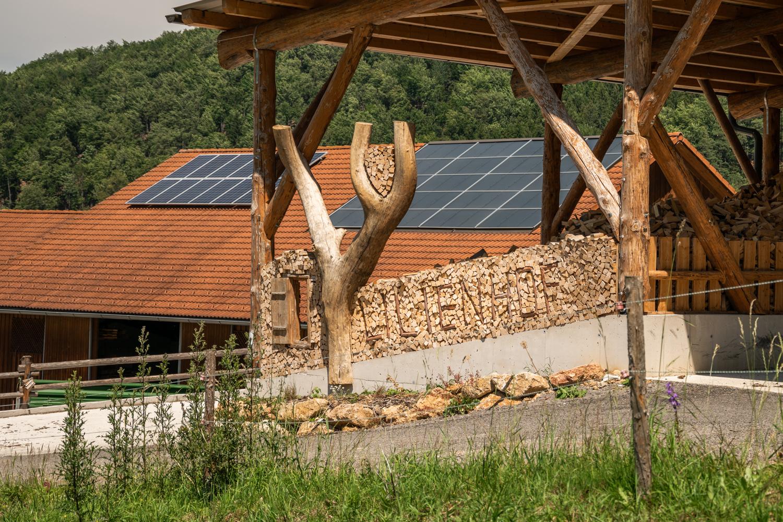 Am Dach sichtbar - die Solar- und Photovoltaikanlagen für die Trocknung