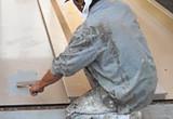 外壁塗装(水性系)中塗塗布