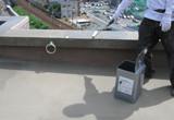 防水工事(ウレタン塗膜防水密着工法)プライマー塗布