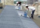 屋根塗装下塗塗布