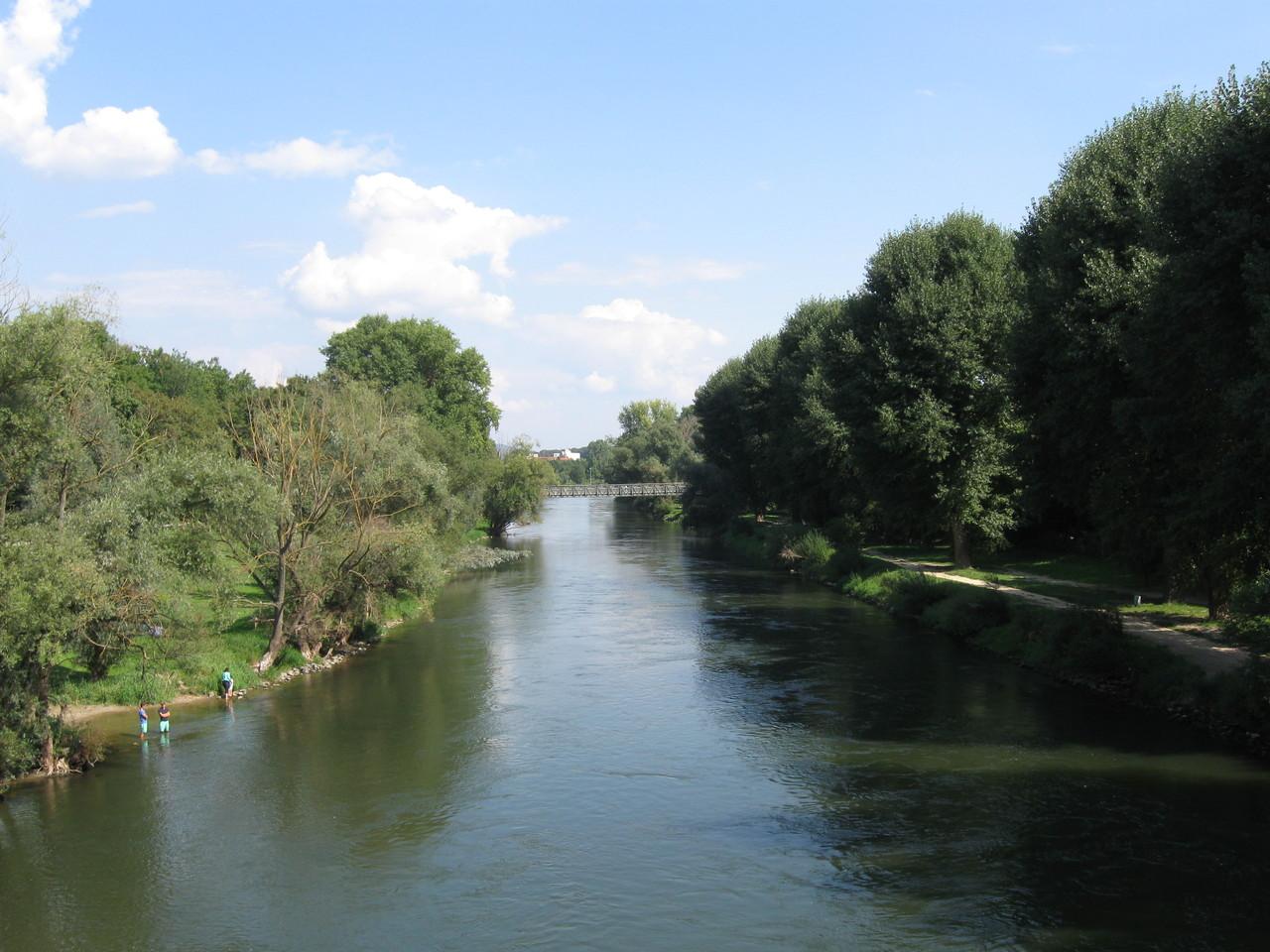 Seitenarm der Donau
