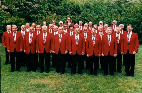 Der Jubiläumschor 2002