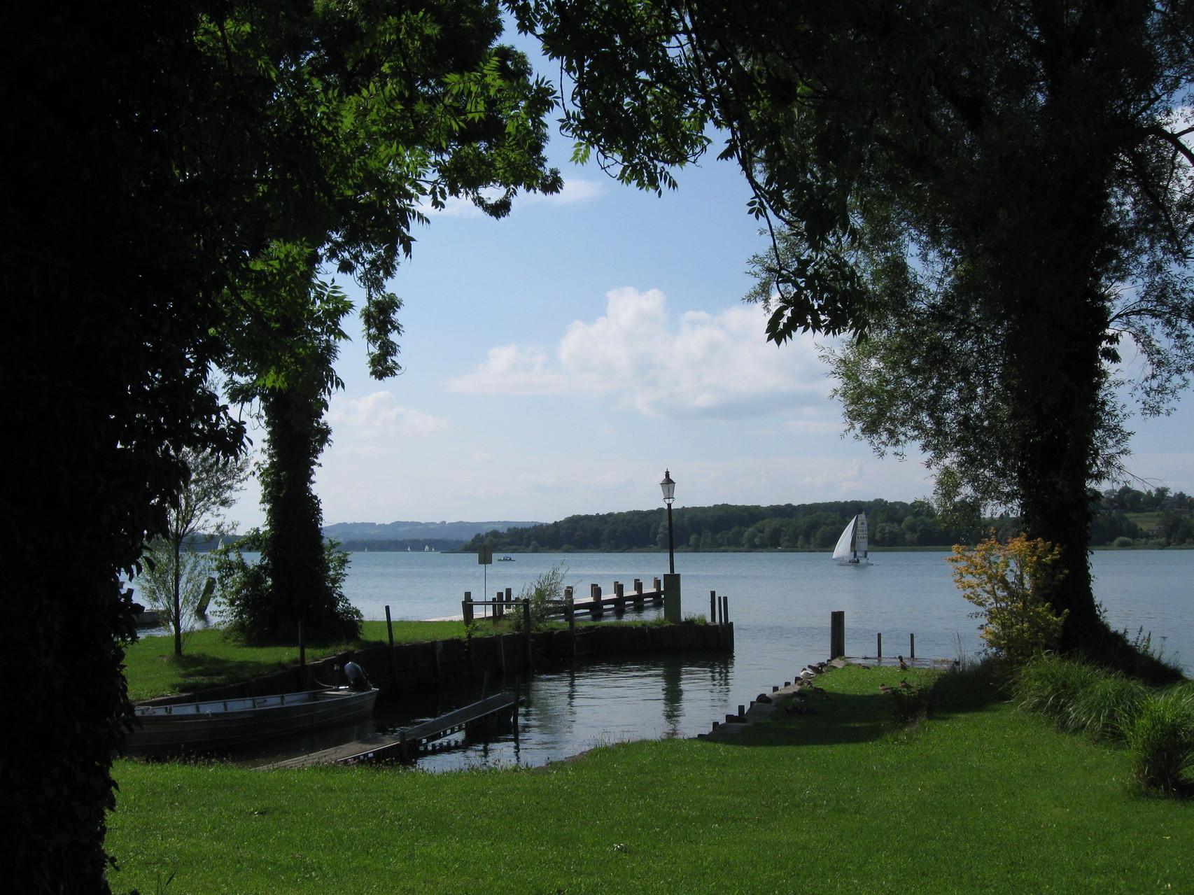 Lauschiges Fleckchen am See