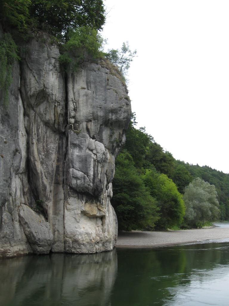 Felsen am Donaudurchbruch