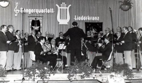 Herstkonzert 1984 im Bürgerhaus Hofheim