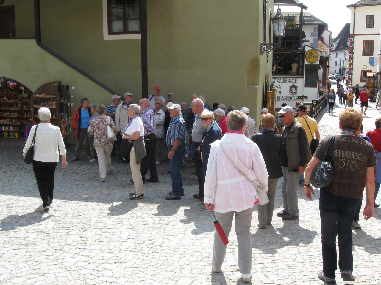 ...und etwas später in Cesky Krumlov (Krummau)