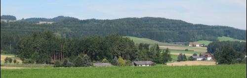 Landschaft im Mühlviertel