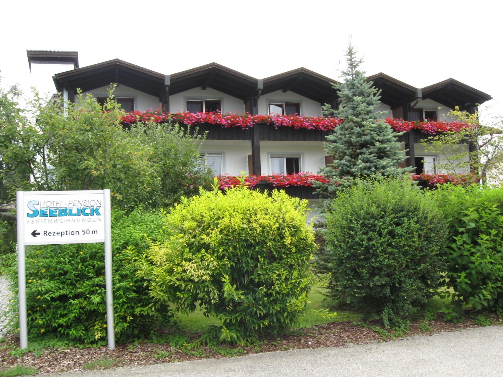 Unser Feriendomizil das Gästehaus vom Hotel Seeblick in Obing am See