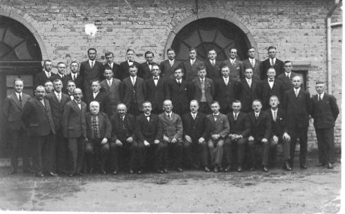 Liederkranz im Jahre 1932