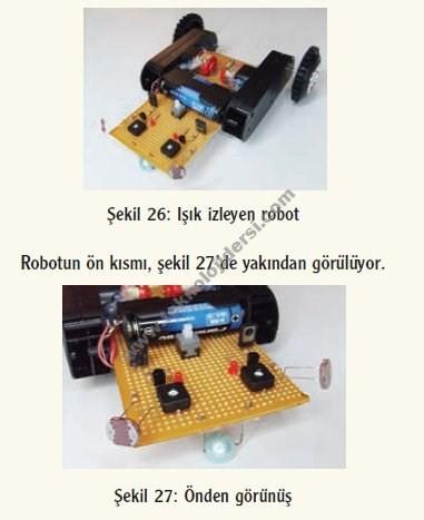 ışık takip eden robot