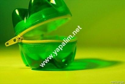 Pet şişe ile kumbara yapımı