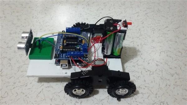 Engel algılayan robot namik kemal robotİk