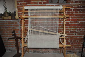 Webrahmen zum Teppichweben