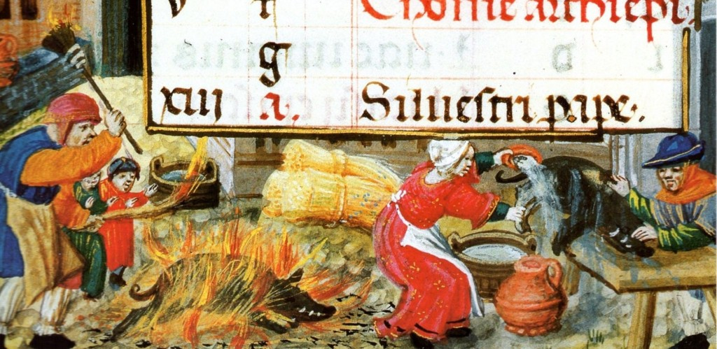 Livre d'heures à l'usage de Rome, Paris, BNF, Smith Lesouëf 38, f. 12v, origine : Flandre, fin XVème-début XVIème siècles.