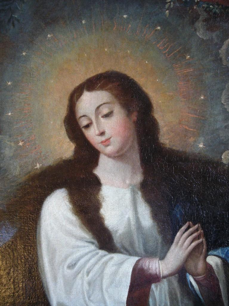 Inmaculada Concepción. Óleo/lienzo. Estado final.