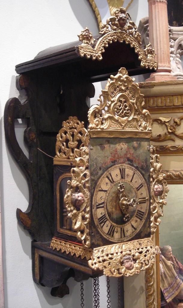 Reloj alemán. Estado final.