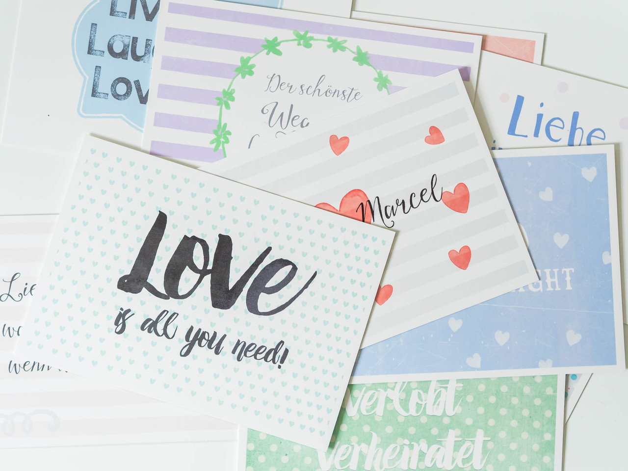 Glückwunsch Karten - Juhu Papeterie. Liebevoll gestaltete Postkarten ...