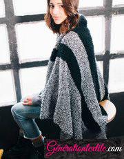 laine Katia collection Big chantilly jaspé modèle N°39