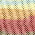 Menfis Color 115 - Kaki-Turquoise-Jaune citron-Corail