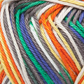 Capri Plus 105 - Gris clair nacré-Jaune-Vert-Bleu nocturne-Orange
