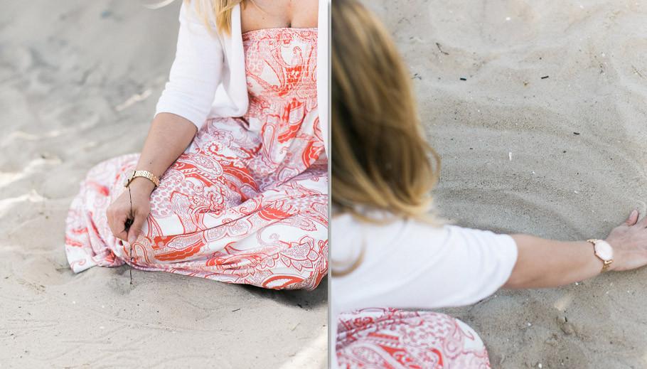 Fabijan-Vuksic,-Portrait,-Strand,-Beach,-Sommer,-Cuxhaven,-Portrait-Woman,-Sabine-Lange,-Biene-Photoart