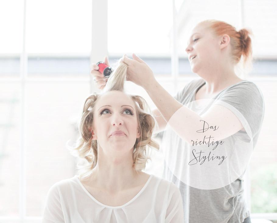 Styling, Friseur, Braut, Brautfrisur, Haare, Makeup, Carolin Ghodoussi, Sabine Lange