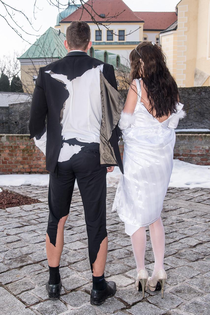 """Trash the dress - und auch den Anzug!"""""""