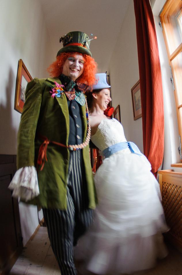 Whimsical Hochzeit - Brautpaar