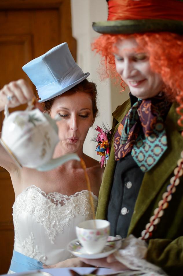 Whimsical Hochzeit - Zeremonie