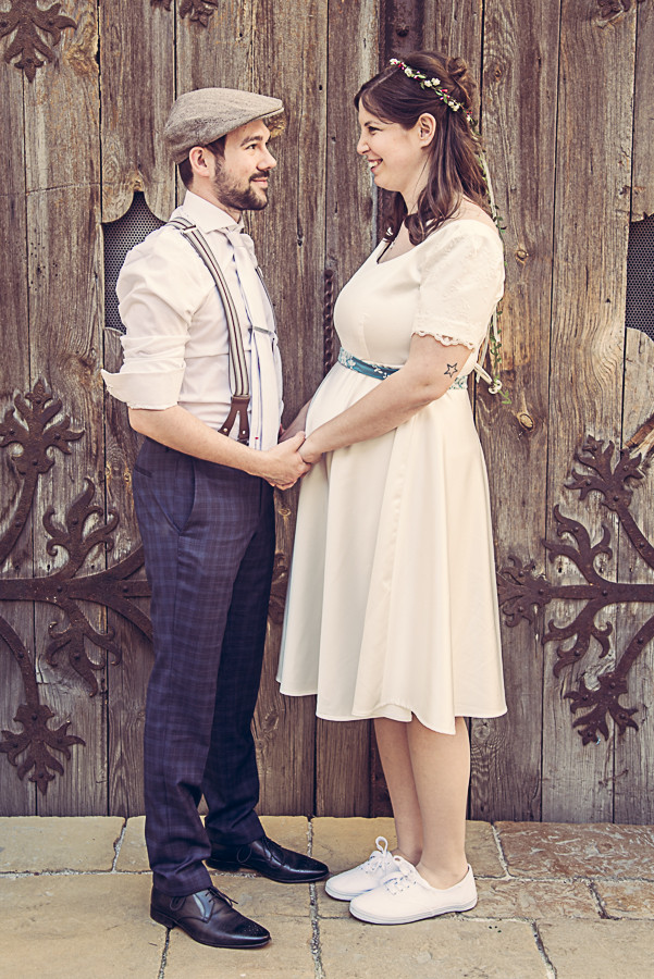 Vintage-Stil: Brautpaar