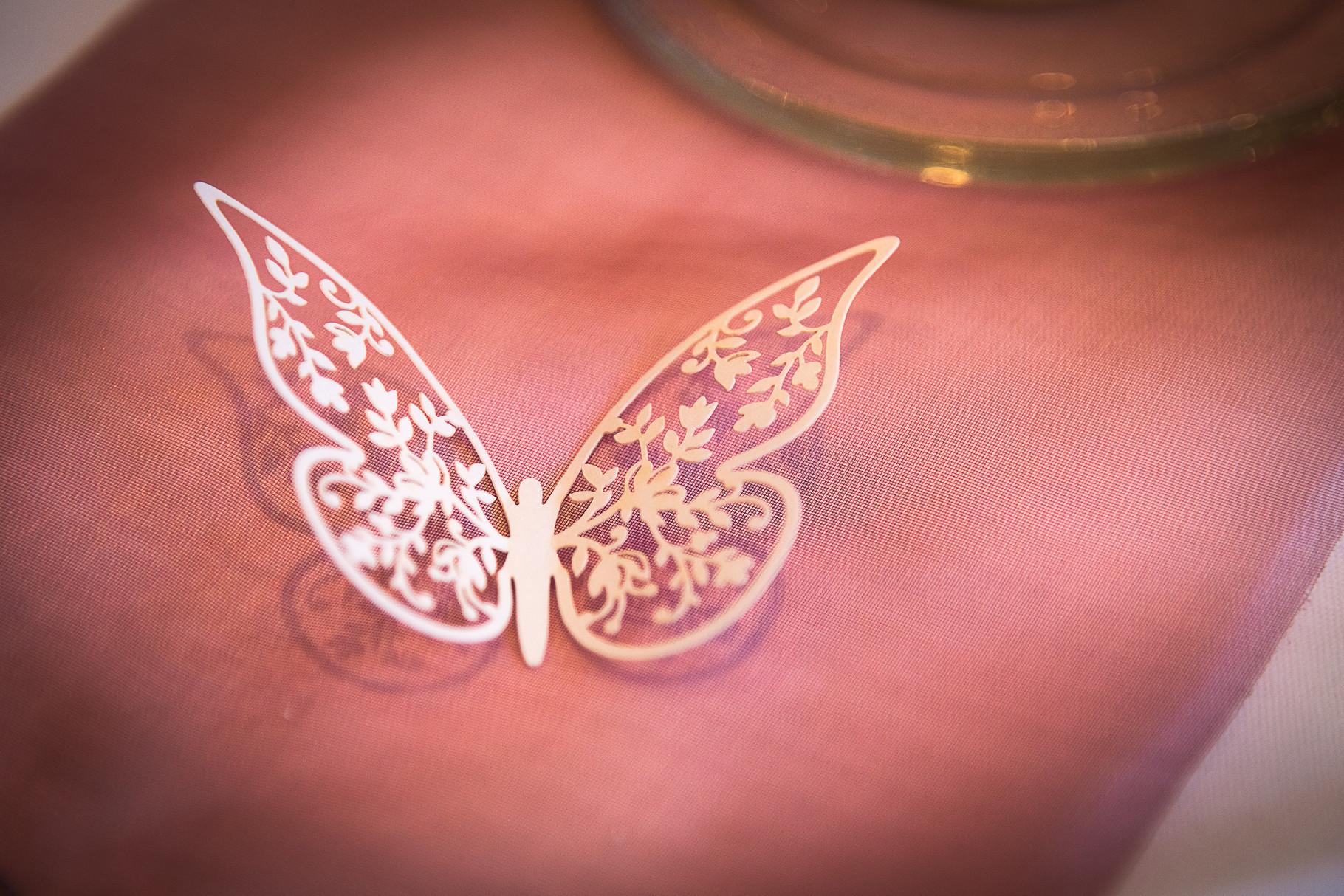 Vintage-Schmetterling - Deko